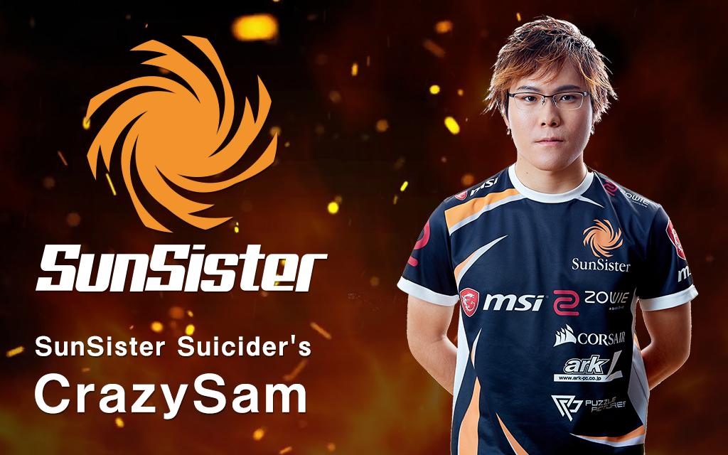 【PUBG】CrazySam選手インタビュー(前編)「本当に厳しい世界であると痛感しました」